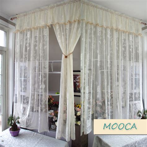 buy lace curtains aliexpress com buy ivory white lace curtain vintage
