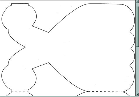 Dress Shaped Card Template by Princess Dress Template Cards