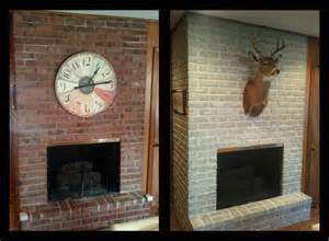 brick wall fireplace makeover kvriver