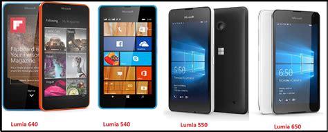 Nokia Lumia X by Lumia 550 Vs Lumia 650 Vs Lumia 640 Vs Lumia 540