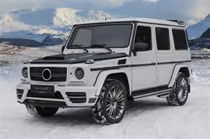 new mansory mercedes g class revealed