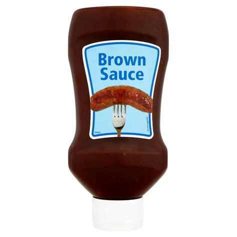 brown sauce 875ml table sauce table sauce pickles food cupboard iceland