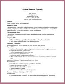 use federal resume samples to meet requirements resume