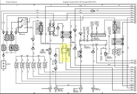 toyota 3rz fe efi wiring diagram wiring diagram 2018