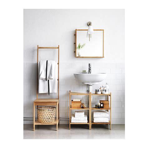 corner shelves ikea r 197 grund wash basin corner shelf bamboo 34x60 cm ikea