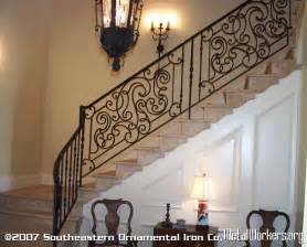 Iron Stair Railing Wrought Iron Stair Railing Metalworkers Org