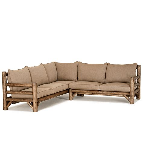 rustic sectional rustic sectional la lune collection
