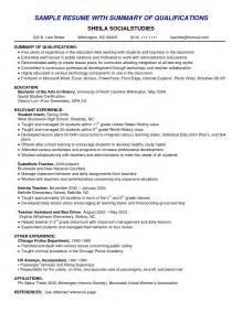 Ability Summary Resume Examples Nice Resume Skills Summary Examples Resume Template Online