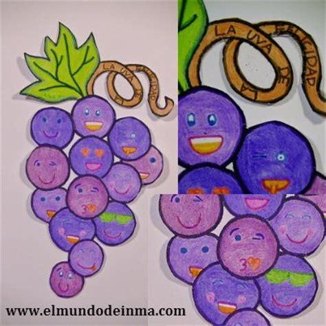 imagenes de uvas con mensajes manualidades la uva de la felicidad el mundo de inma
