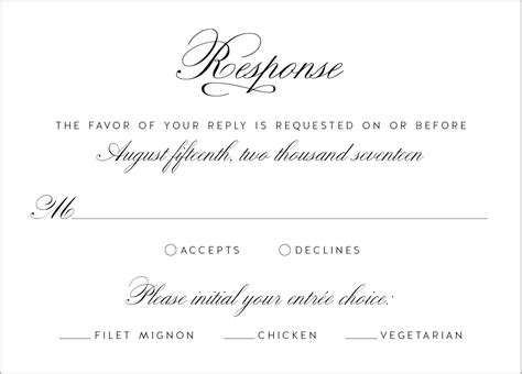 What S In A Wedding Invitation Wedding Invitations Dietary Requirements Email Template