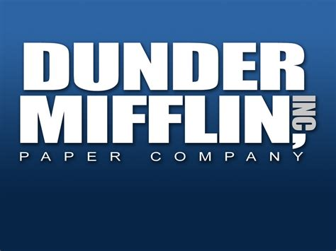 dunder mifflin dunder mifflin the office wallpaper 342660 fanpop