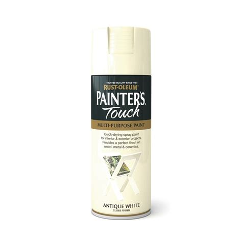 Sprei White Rust Oleum Painter S Touch Gloss Spray Paint Antique White