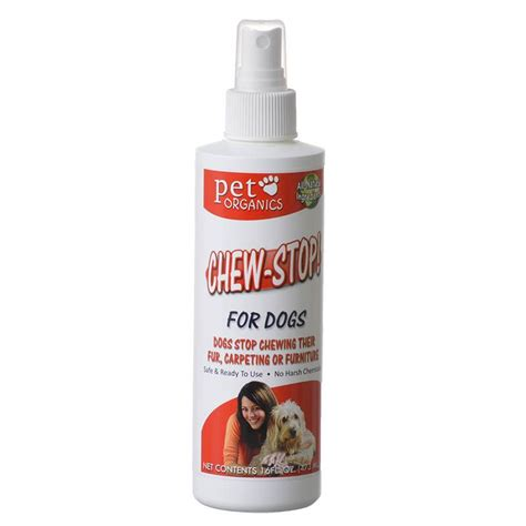 spray to stop from chewing pet organics pet organics chew stop spray for dogs repellents indoor outdoor
