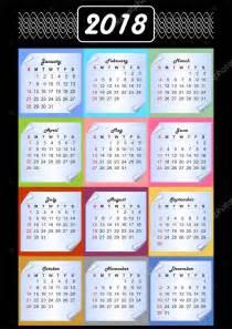 Calendario 2018 Em Portugues Calend 225 2018 Calendarium Em Blocos De Mem 243 Ria Plano