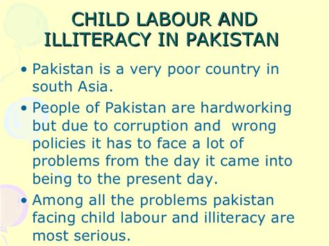 Essay On Child Labour by Essay On Pakistan For Writefiction581 Web Fc2