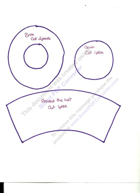 mad hatter hat template mad hatter hat pattern free
