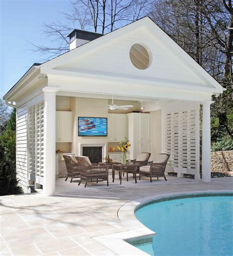 Small Pool House Ideas pool house prix moyen mat 233 riaux de construction et