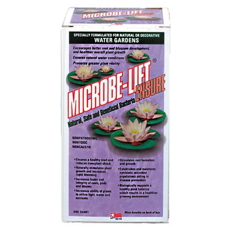 o lift supplement microbe lift ensure for aquatic pond plants quartz