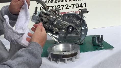 predator cc billet flywheel installation video youtube