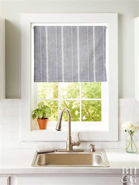 Cafe Style Kitchen Curtains 14 Diy Kitchen Window Treatments
