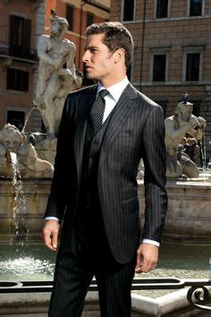 Slim Fit Shirt S S Contempo 1920s style suit by brown 3 3887 068