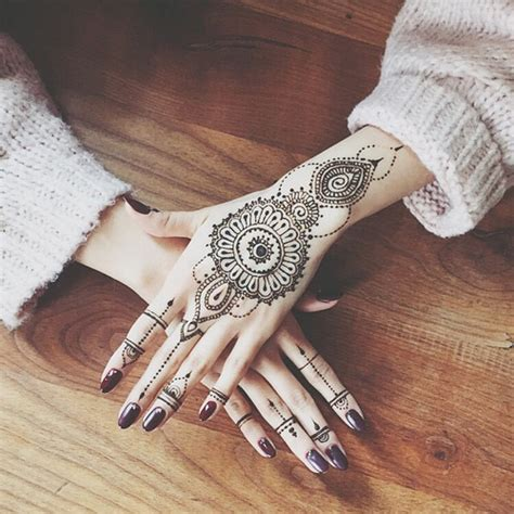 henna hand tattoo on tumblr henna