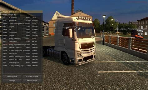game modding euro truck simulator 1 hybrid man truck for multiplayer ets2 mods euro truck