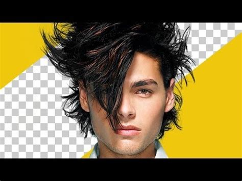 tutorial photoshop hair cut how to cut out hair smoothly in photoshop youtube