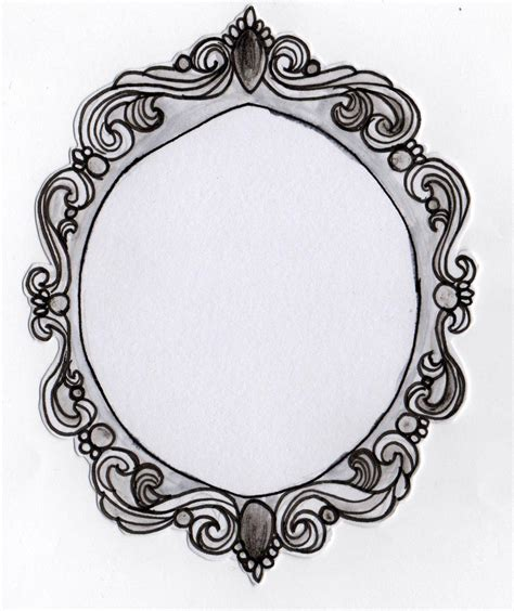 filigree pattern frame filigree maquette shapes rebecca ashlee