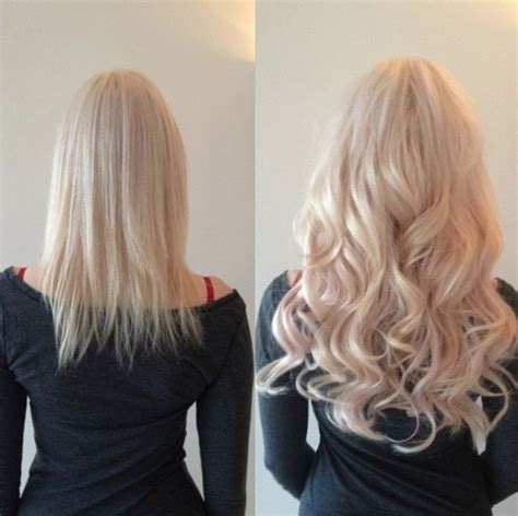 hair extensions for short hair before and after micro bead hair extensions before and after