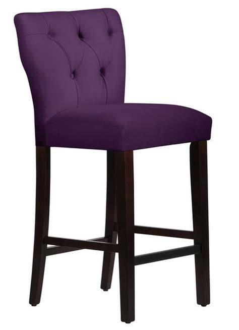 Blue Tufted Bar Stools by Top 7 Purple Bar Stools Furniture