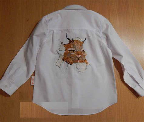 design embroidery shirts shirt with angry cat free embroidery design showcase