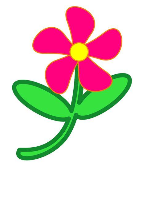 printable clip art flowers spring flower clip art clipart best