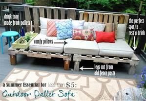 This End Up Loveseat Diy Outdoor Pallet Sofa Jenna Burger