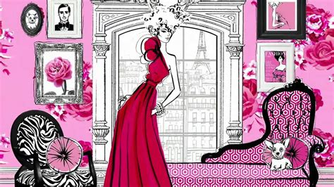 libro fashion house illustrated interiors fashion house illustrated interiors from the icons of style youtube