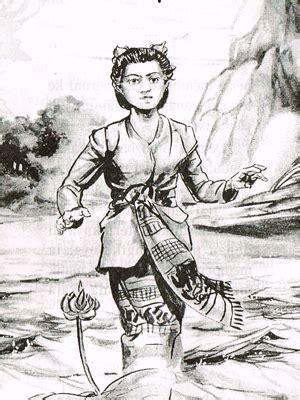 Teratai Merah Lombok duka lala seruni rakyat lombok dongeng anak