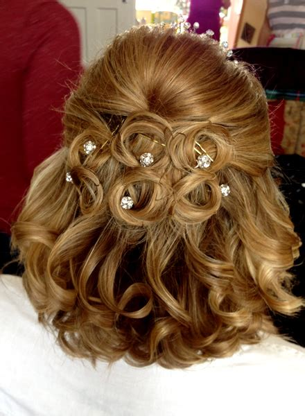 Wedding Hair Half Up Accessories by Wedding Hair And Bridal Hair Gallery Worthing Hair