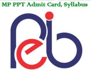 Mba Syllabus Mp Higher Education by Mp Ppt Admit Card Syllabus Pattern Entrancetest19 In