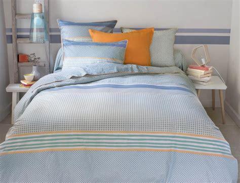 linge de chambre linge de lit bleu horizon linvosges