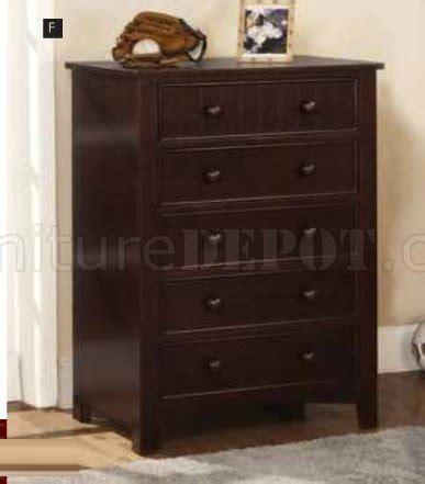 Corry Set Modern corry cm7923ex 5pc bedroom set in espesso finish w options