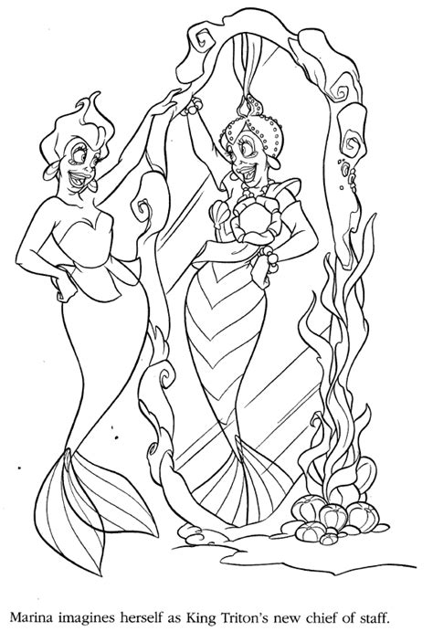 coloring pages of ariel and her sisters ariels sisters coloring pages