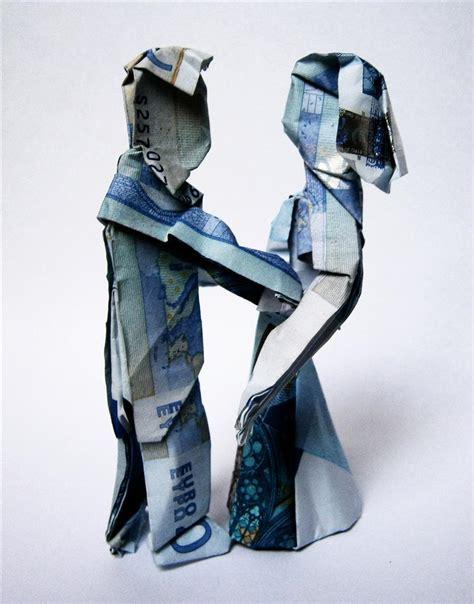 Wedding Money Origami - money wedding origami by mitanei on deviantart