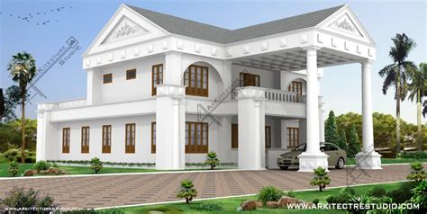 14 colonial luxury house designs in india that you will