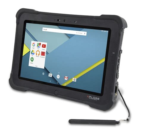 rugged android tablet xplore xslate d10 review rugged android tablet