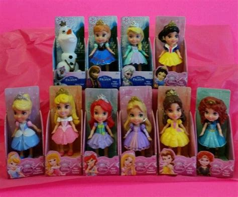 Set Diseny Kid Tosca Salem Fanta 10 mini toddler doll my disney princess friends