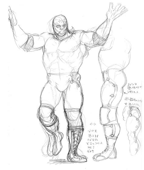 Fighter V Sketches by Fighter Iv Concept
