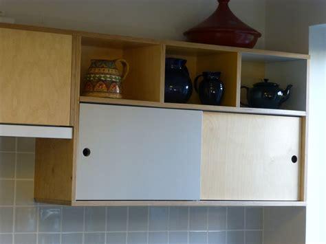 sliding kitchen cabinet doors uk birch ply custom made kitchen by peter henderson furniture