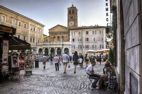 best restaurant in trastevere rome italy neighbourhoods of rome trastevere