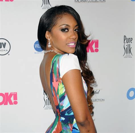 porcha atlanta house wife hair line dlisted porsha from the real housewives of atlanta is