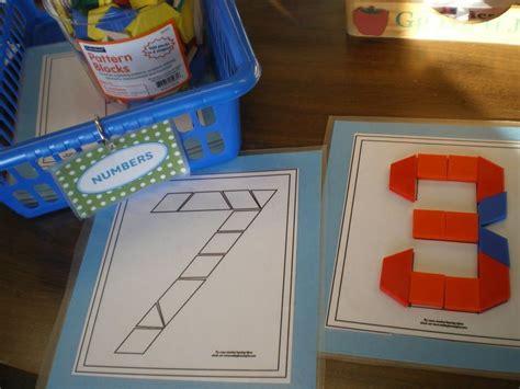 pattern center ideas for kindergarten pattern block templates and other math station ideas